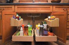 55 best under the sink organizing images kitchen storage kitchen rh pinterest com
