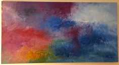 Emotions Acrylic on canvas 150cm x 80cm