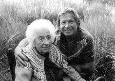 """Mardy Murie and John Denver.   Listen to his song, """"A Song for All Lovers"""" about Mardy's 'gentle and strong' character"""