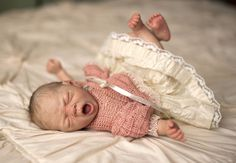 Reborn Baby Boy Doll Wee Yawns Marita Winters Precious Little Babies Rachel OOAK