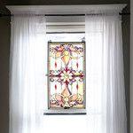Meyda Tiffany Victorian Versaille Transom Stained Glass Window & Reviews | Wayfair