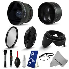 52MM Wide Angle & #Telephoto #Lens + Accessories #Fisheye #Macro #Close Up for #NIKON D5200 D5100 D3300 D3200 #Vivitar #BlackFridayDEAL #BlackFridayDEALS #BlackFriday #BlackFriday2014