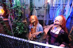 Zombies in the Raycliff Crypts...    www.RaycliffManor.com    - Raycliff Manor Haunted Attraction / Haunted House  San Diego, CA