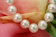 910mm AAA Perfect Round Highest Luster White by RIPEARLS on Etsy, $585.00