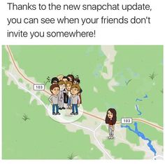 Thanks snapchat ---and people wonder why I leave my GPS turned off!