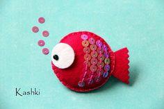 felt fish