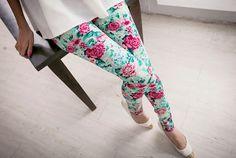 Super cute pants! #fashion #teen #floral