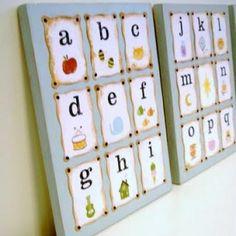 Cute ABC art
