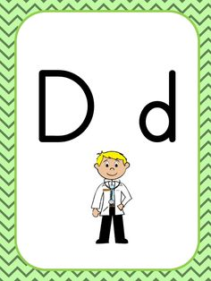 D SESİ Dil, Character, Lettering