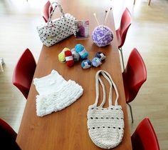 Χώρος σεμιναρίων και δημιουργίες μας Straw Bag, Bags, Fashion, Handbags, Moda, Dime Bags, Fasion, Totes, Hand Bags