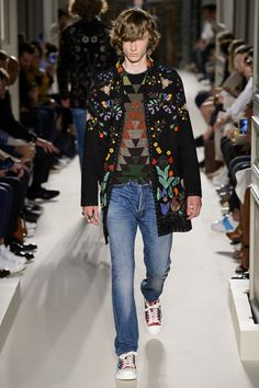 Valentino Spring Summer Primavera Verano 2016 Collection #Menswear #Trends #Tendencias #Moda Hombre - Paris Fashion Week - D.P.