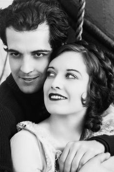 "Ramon Navarro and Joan Crawford from ""Across to Singapore"", (1928). http://www.pinterest.com/pin/234890936790708889/"