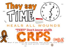 CRPS Awareness  COMPLEX REGIONAL PAIN SYNDROME  The worlds most painful condition  No Cure What if you found the LuckyPenny that finds the cure? LuckyPenny Chronic Pain, Fibromyalgia, Costochondritis, Chronic Illness Quotes, Pain Scale, Complex Regional Pain Syndrome, Get Educated