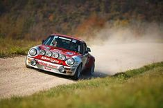 Belga Porsche 911 Rally Car