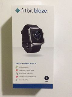 Brand new free shipping Fitbit - Blaze Smart Fitness Watch (Large) - BlackProduct FeaturesKeep track of daily activity levels Measures steps taken, di... #fitness #watch #large #black #smart #blaze #free #shipping #fitbit #brand