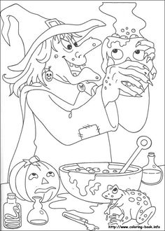 155 Halloween Printable Coloring Pages For Kids Find On Book Thousands Of