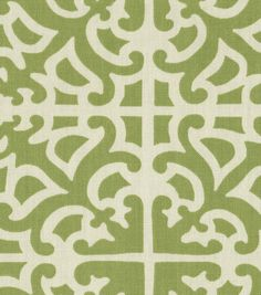 Home Decor Print Fabric-Waverly Parterre Grass