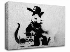 Rapping Rat from only 19.99 at Infusion Art http://www.infusionart.co.uk/products/Rapping-Rat-243281.aspx