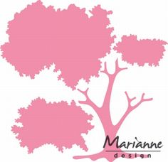 Col1424 Tree - Marianne Design Collectables - Snijmallen - Hobbynu.nl