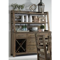 Shop for Prescott Valley Antique Honey Server and Hutch. Get free delivery at Overstock.com - Your Online Furniture Shop! Get 5% in rewards with Club O!
