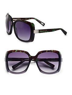 Marc Jacobs Oversized Plastic Square Sunglasses