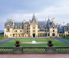 Biltmore Mansion - Used to visit every Christmas when I went to NC to see my grandparents