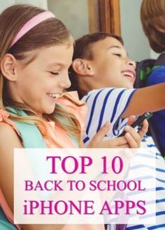 back to school iphone apps for school
