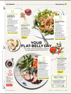 Women's health UK - flat belly day