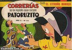 Revista Correrías de Patoruzito Nostalgia, Son Goku, Calvin And Hobbes, My People, Cartoon Network, Memories, Album, Humor, Comics
