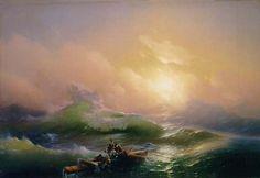 Ivan Aivazovzky - Ninth Wave