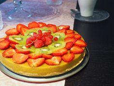 Vauvan smoothiekakku Healthy Desserts, Waffles, Cheesecake, Strawberry, Fruit, Breakfast, Food, Baby, Health Desserts