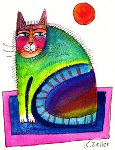 """""""Mini Cat"""" par Karin Zeller"""