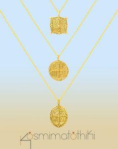 Ασημένιο κολιέ κωνσταντινάτο επίχρυσο, από ασήμι 925 Gold Necklace, Jewelry, Gold Pendant Necklace, Jewlery, Jewerly, Schmuck, Jewels, Jewelery, Fine Jewelry