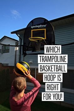 If you already own a trampoline in your backyard, you might be looking for something to get your kids engaged on the trampoline again. Or maybe you have just bought a new trampoline for your backyard and want to include… Spring Free Trampoline, Jumpking Trampoline, Trampoline Reviews, Trampoline Basketball, Toddler Trampoline, Trampoline Springs, Rebounder Trampoline, Trampoline Workout