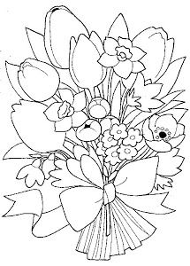 Simple Flower Coloring Page together with 400961173060733963 as well Flowers Coloring Pages also 548876273314030820 also Patternschristmas. on free embroidery pattern bunch of little