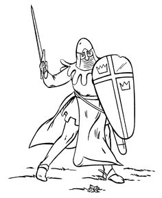 bluebonkers medieval knights in armor coloring sheets knight