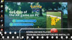 POKEMON GO PC CONTROL WASD KEYBORAD WITH NOX PLAYER! | pokemon sun and go