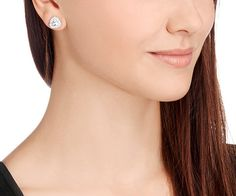Begin Stud Pierced Earrings - Jewelry - Swarovski Online Shop