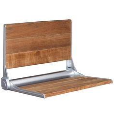 "Crosslinks is excited to offer our new 17"" Burmese Teak wood one person folding shower bench. Featuring a high strength easy close mechanism that allows the ben"