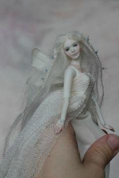 "Porcelain Fairy Girl Woman BJD 1 12 Dollhouse by N Yaskova 6"" 14 8 Cm | eBay"