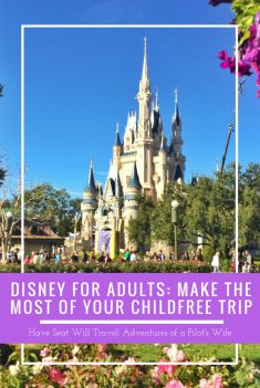 Disney for Adults: Make the Most of your Childfree Trip - Have Seat Will Travel
