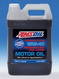 AMSOIL 15W40 Synthetic Diesel Oil - * See this AMSOIL product at http://shop.syntheticoilandfilter.com/motor-oil/diesel/sae-15w-40-heavy-duty-diesel-and-marine-motor-oil/