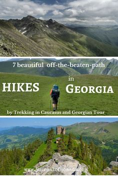 Georgia a great summer destination if you love hikes. Trekking in Caucasus and Georgian Tour composed a list with their favorite off-the-beaten-path treks! Journal of Nomads