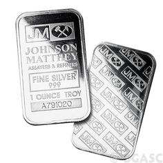 Monster Box of 1 oz Johnson Matthey Silver Bars .999 Fine #Silver #Bullion Mint Sealed (500 Bars) - One of our most popular bullion bars in this size. Each of these assayed silver ingots has had its weight and fineness certified by Johnson Matthey, and is stamped with a unique serial number for additional authenticity. http://www.bgasc.com/product/monster-box-of-1-oz-johnson-matthey-silver-bars-500-bars/johnson-matthey-silver-bars