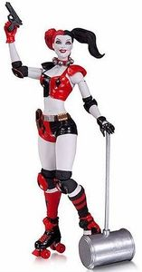 DC The New 52 6 Inch Action Figure Harley Quinn [Roller Derby] Pre-Order ships June