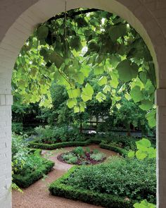 "papress: "" At Seven Ponds in Albemarle County, Virginia, a small formal herb garden at the entry to the kitchen is a handy source for a range of edible plants. From Nelson Byrd Woltz: Garden, Park,. Magic Garden, Dream Garden, Potager Garden, Garden Paths, Formal Gardens, Outdoor Gardens, Indoor Gardening, Organic Gardening, Dubai Miracle Garden"