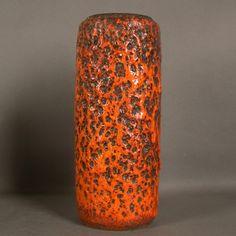 Fat Lava. Große Keramikvase. 1960 - 1970.