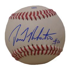 NY Yankees David Robertson signed Rawlings ROLB leather baseball w/ proof photo.  Proof photo of David signing will be included with your purchase along with a COA issued from Southwestconnection-Memorabilia, guaranteeing the item to pass authentication services from PSA/DNA or JSA. Free USPS shipping. www.AutographedwithProof.com is your one stop for autographed collectibles from New York sports teams. Check back with us often, as we are always obtaining new items.