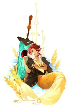 See You in the Country() by zetallis from Transistor the game