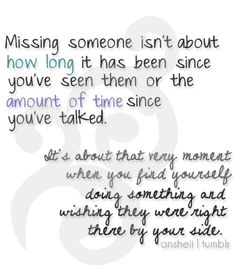 Everyone misses someone, especially during deployment... @Elaine Hwa Soto